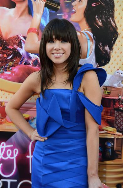 Carly Rae Jepsen -  Katy Perry: Part of Me  Los Angeles Premiere in Hollywood (June 26, 2012)