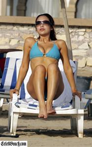Myleene Klass in a bikini