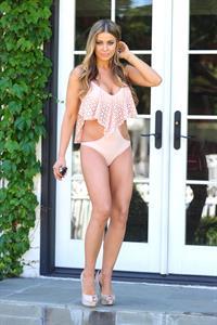 Carmen Electra Michael Simon bikini Photoshoot (2012)