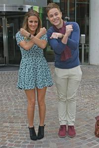 Caroline Flack X Factor auditions July 13, 2011