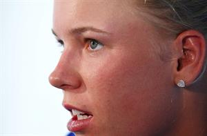 Caroline Wozniacki Press conference after her first-round at the Apia International Sydney 2013 January 6, 2013