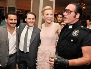 Cate Blanchett attends the 'Blue Jasmine' N.Y. Premiere at the Museum of Modern Art July 22, 2013