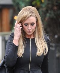 Catherine Tyldesley in London - October 26, 2012
