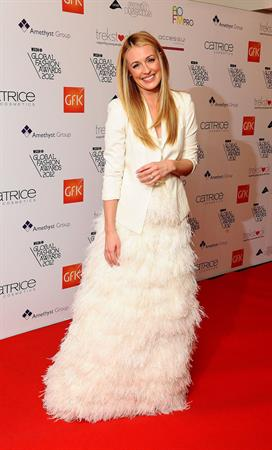 Cat Deeley WGSN Global Fashion Awards in London 11/5/12
