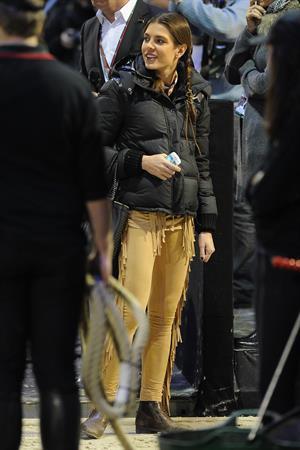 Charlotte Casiraghi Gucci Paris Masters 2012 - Day 2 (Dec 1, 2012)