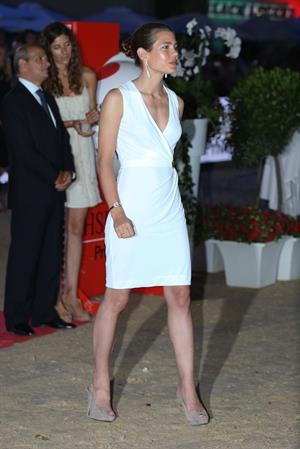 Charlotte Casiraghi - Global Champion Tour 2012 In Monte Carlo - Award Ceremony (June 30, 2012)