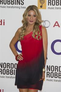 Charlotte Jackson attends the Nordoff Robbins O2 Silver Clef Awards at the London Hilton Hotel on June 29, 2012 in London, England