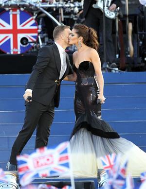 Cheryl Tweedy Cole - Performing at Queen Diamond Jubilee Concert in London, June 4, 2012