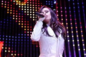 Cher Lloyd Towers Black Friday Concert in Universal City 11/23/12