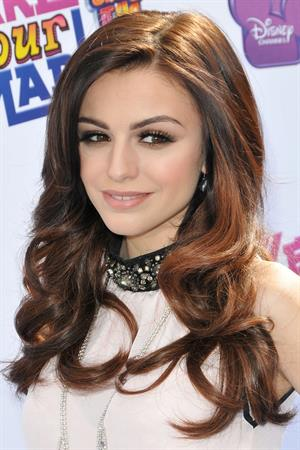 Cher Lloyd Make Your Mark Shake It Up Dance Off 2012 LA 10/06/2012