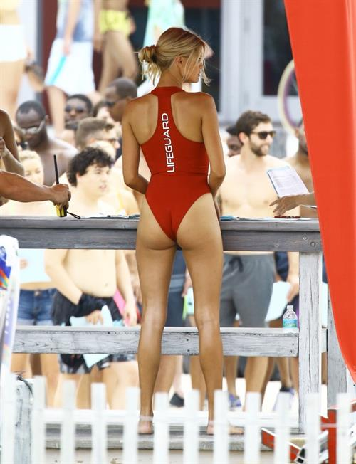 Kelly Rohrbach in a bikini - ass