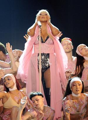 Christina Aguilera American Music Awards - Performance (November 18, 2012)