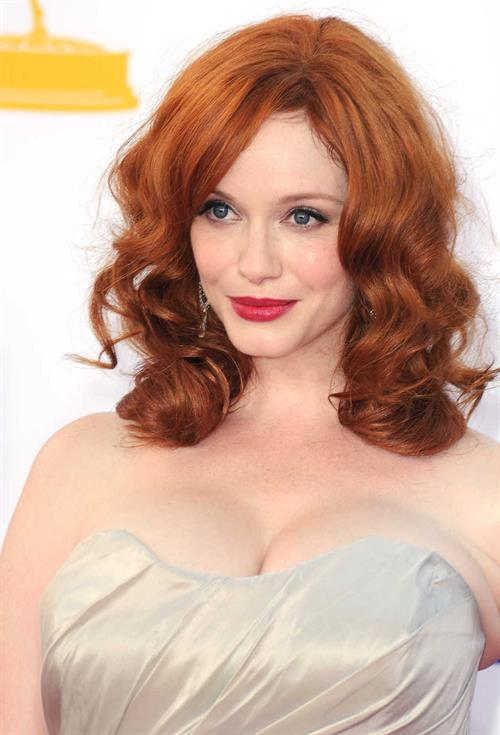 Christina Hendricks - 64th Primetime Emmys Nokia Theatre LA Sept 23 2012