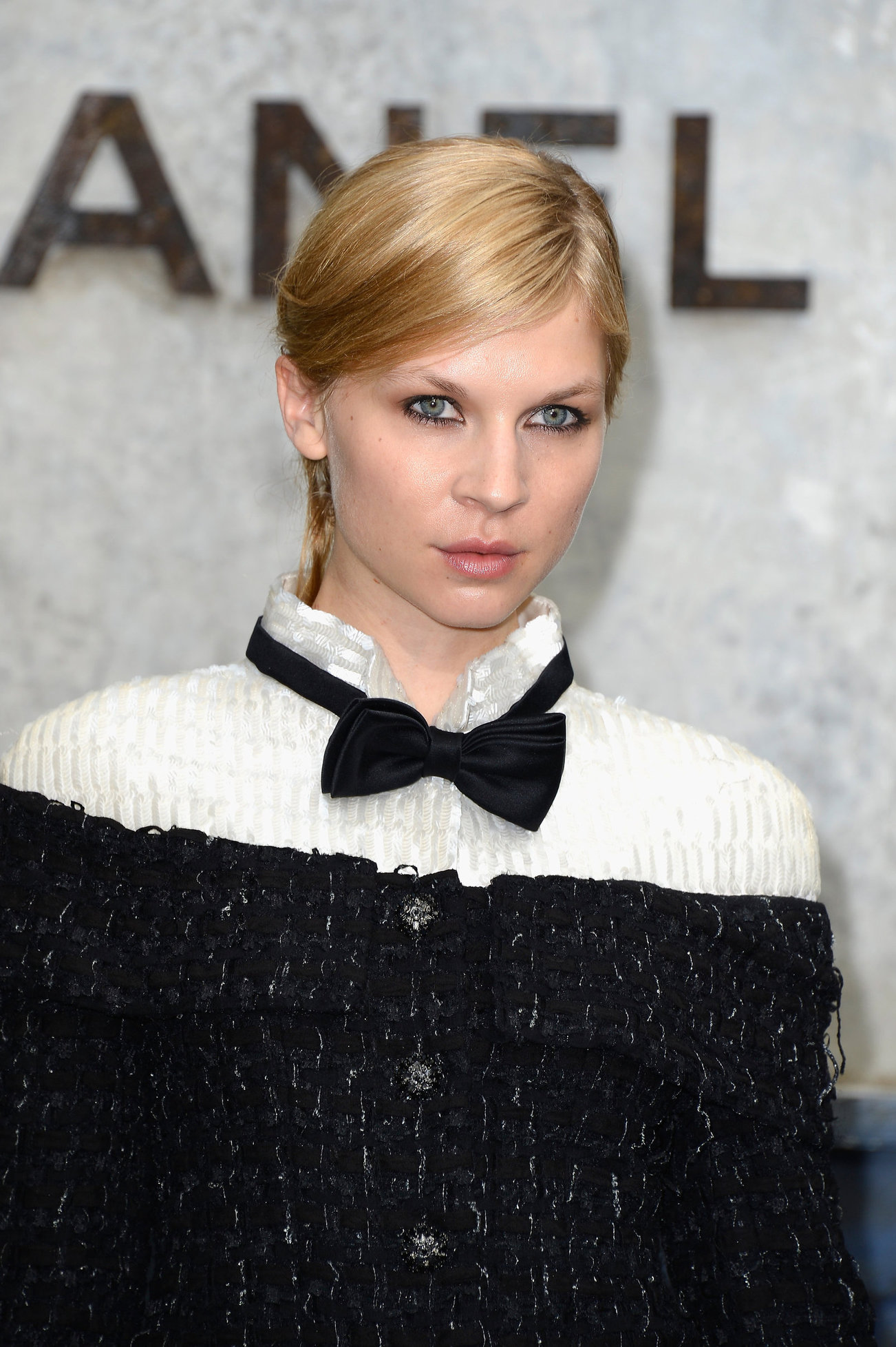 Clemence Poesy Chanel: Photocall- Paris Fashion Week Haute Couture F/W 2013-2014, 02 Jul 2013