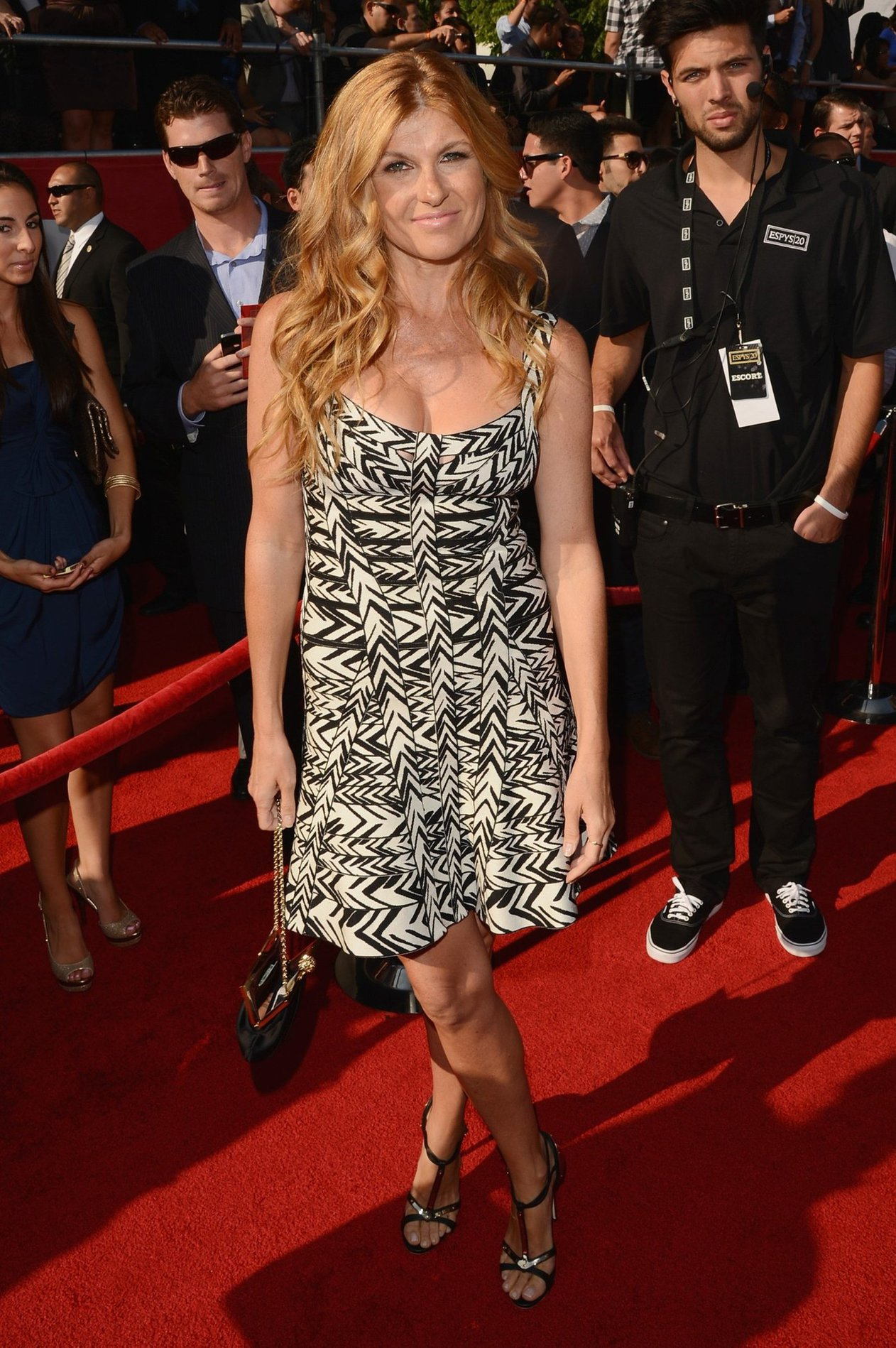 Connie Britton arrives at the 2012 ESPY Awards at Nokia Theatre L.A. Live on July 11, 2012 in Los Angeles, California.