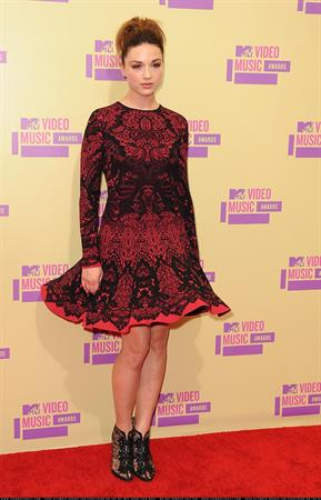 Crystal Reed - MTV Video Music Awards in Los Angeles - September 6, 2012