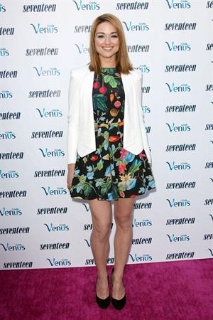 Crystal Reed - Seventeen Magazine Editor-In-Chief Ann Shoket Hosts Poolside Party, Aug 2, 2012