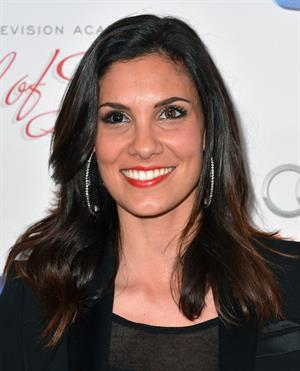 Daniela Ruah 22nd Annual Hall of Fame Induction Gala in Beverly Hills 3/11/13