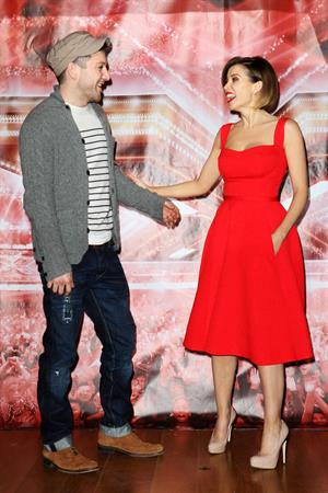 Dannii Minogue X Factor Final photocall London on December 9, 2010