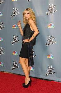 Delta Goodrem  The Voice  Season 4 Premiere Hollywood, Mar. 20, 2013
