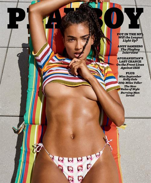 Kelly Gale Cover of Playboy