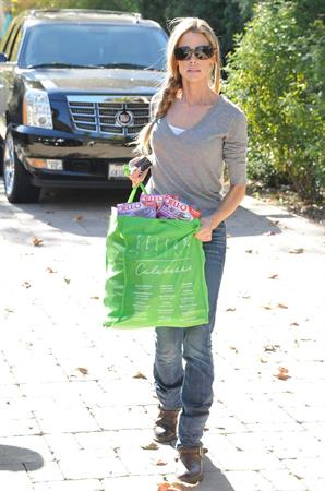 Denise Richards shopping in LA 12/10/12