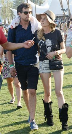 Diane Kruger attends the H&M Loves Music Coachella 2013 kick-off Event at Merv Griffin Estate in La Quinta in April