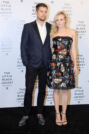Diane Kruger attends the Chanel Little Jacket Event in Sao Paulo 29.10.13