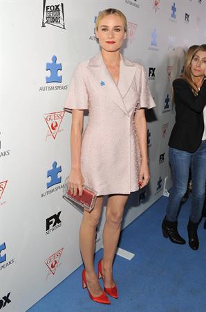Diane Kruger At Autism Speaks Blue Jean Ball at Boulevard 3 in LA on October 24, 2013