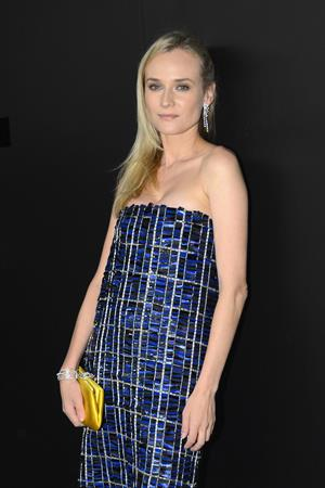 Diane Kruger Chanel Fine Jewelry Dinner NYC on October 9, 2012