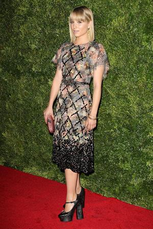 Dianna Agron HBO's In Vogue: The Editor's Eye Screening At The Met, December 4, 2012