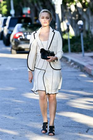 Dianna Agron In west hollywood - October 10, 2012