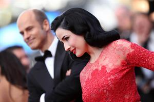 Dita Von Teese 'Behind The Candelabra' Premiere - 66th Annual Cannes Film Festival (May 21, 2013)