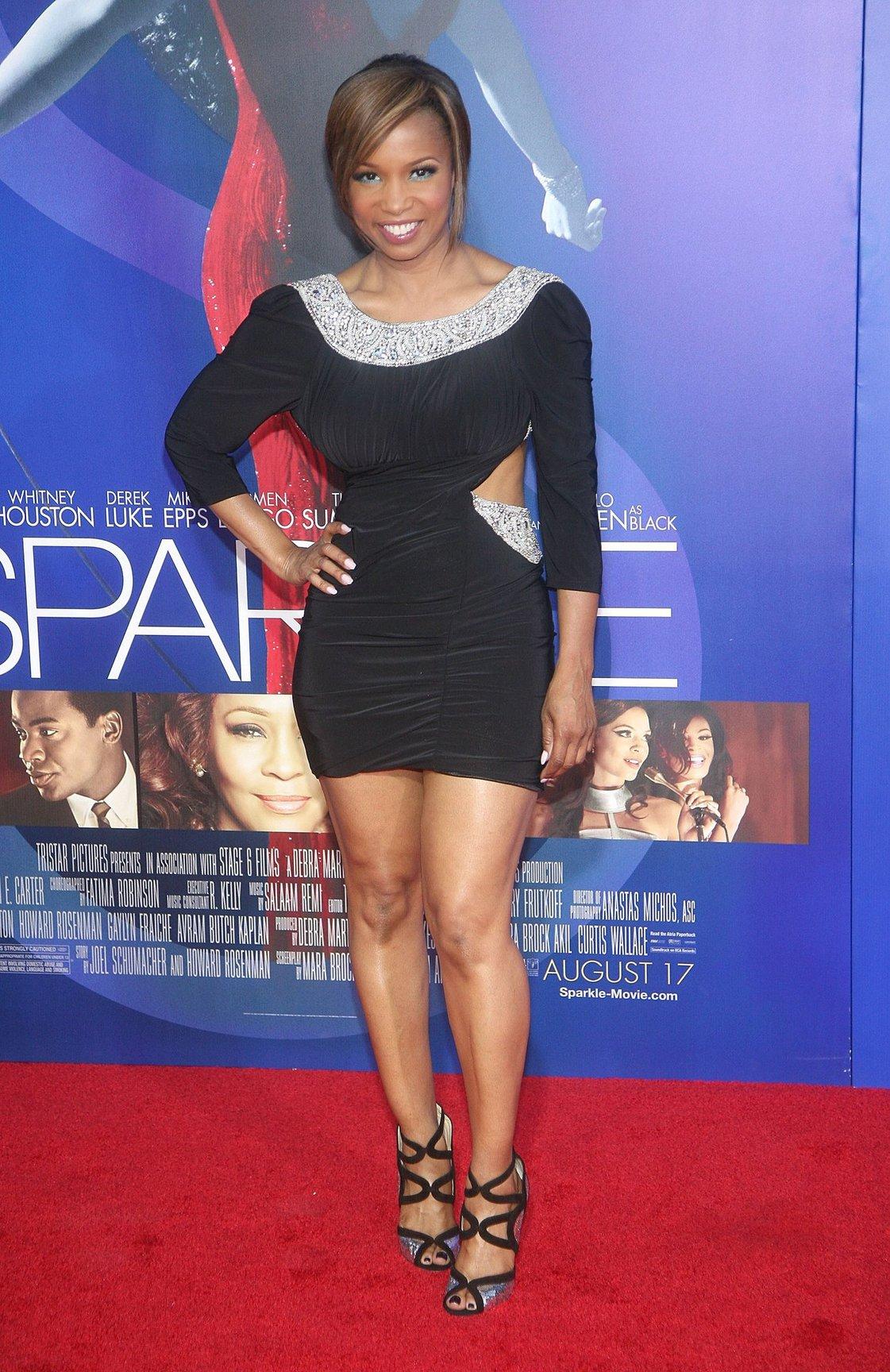 Elise Neal Sparkle Los Angeles Premiere (August 16, 2012)