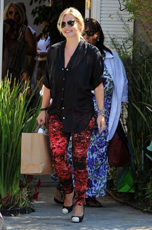Elisha Cuthbert - Leaving a party in Brentwood - August 12, 2012