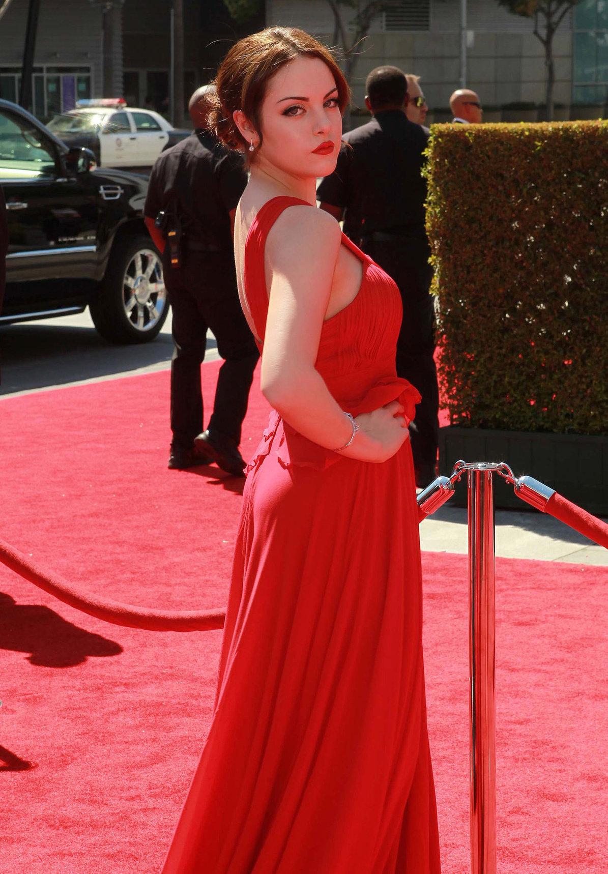 Elizabeth Gillies - Primetime Emmy Awards in LA Sept 15, 2012