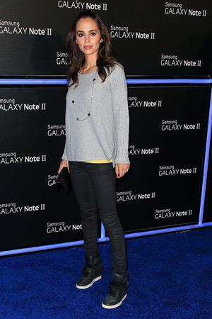 Eliza Dushku Samsung Mobile Launch Party For The New Samsung Galay Note II, October 26, 2012
