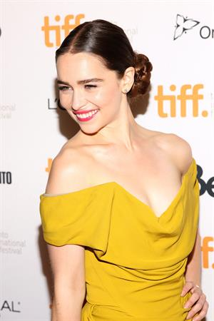 Emilia Clarke  Dom Hemingway  Premiere - 2013 Toronto International Film Festival, September 8, 2013