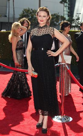 Emily Deschanel - Creative Arts Emmy Awards 9/15/12