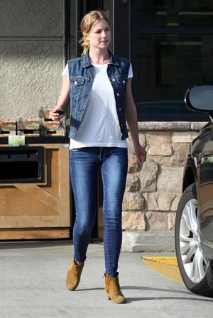 Emily VanCamp at Gelson's Market in Los Feliz 3/16/13