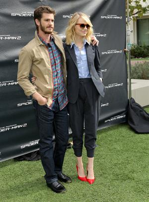 Emma Stone ''The Amazing Spider-Man 2'' fan event, Culver City, November 16, 2013
