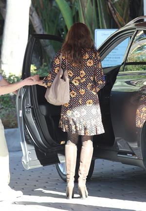 Eva Mendes in West Hollywood on February 13, 2013