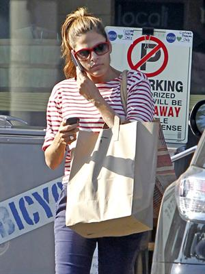 Eva Mendes shopping in LA on August 1, 2012