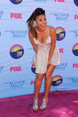 Francia Raisa - 2012 Teen Choice Awards in Universal City (July 22, 2012)