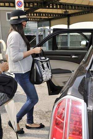 Freida Pinto - Arrives in Venice for the 69th Venice Film Festival - September 6, 2012