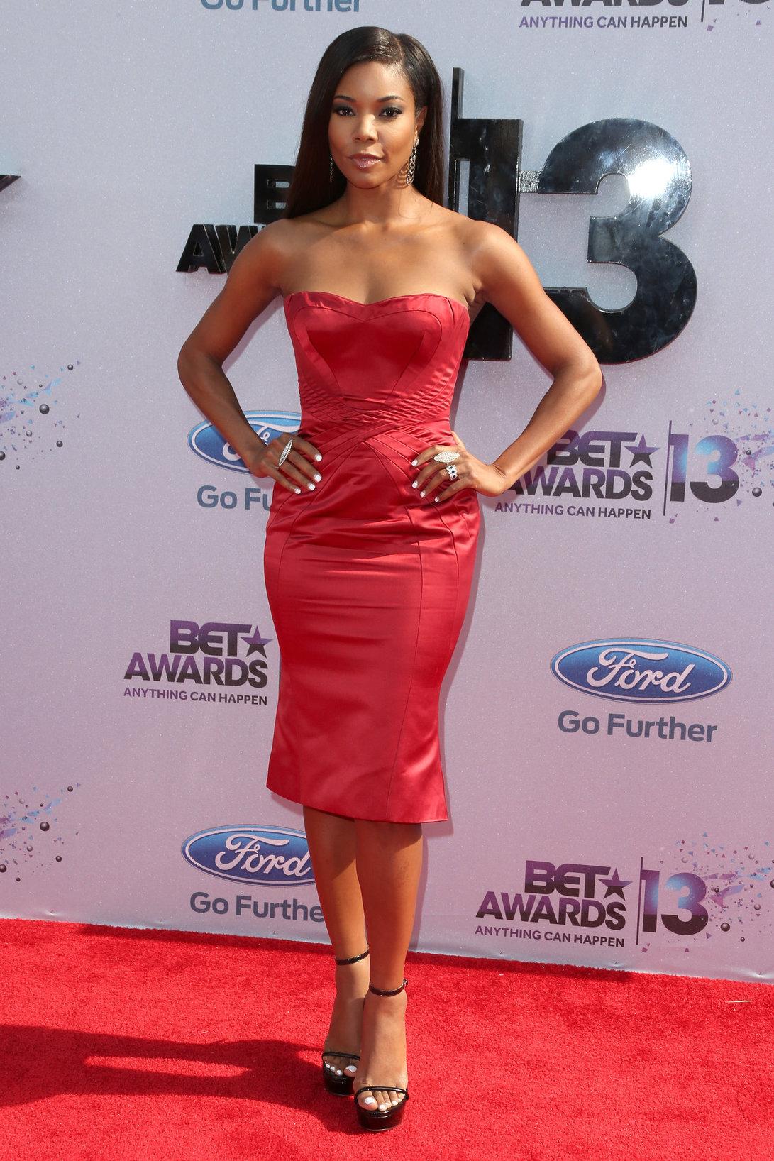 Gabrielle Union Gabrielle Union - 2013 BET Awards at Nokia Theatre L.A. Live, arrivals - June 30, 2013