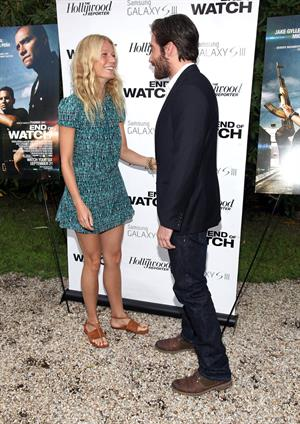Gwyneth Paltrow - End of Watch private Hamptons screening on August 19, 2012