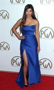 Hannah Simone 24th Annual Producers Guild Awards, Jan 27, 2013