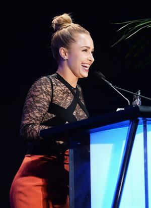 Hayden Panettiere 23rd annual Environmental Media Awards - Burbank - October 19, 2013