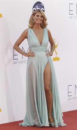 Heidi Klum - 64th Primetime Emmys Nokia Theatre LA Sept 23, 2012